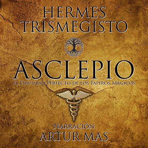 Diseño de la portada del título Asclepio