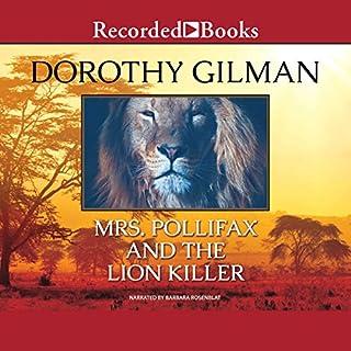 Page de couverture de Mrs. Pollifax and the Lion Killer