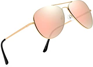 FEIDU Sunglasses man - Pilot sunglasses mens with Ultra-Light Metallic Metal Frame and Women Mens sunglasses FD9002
