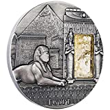 Country: Niue - Year: 2015 Face Value: 2 Dollars - Metal: Silver .999, with Citrine Crystal Insert Diameter: 50 mm - Weight (g): 62.2 (2 oz) Quality: Antique Finish - Mintage (pcs): 500 - Certificate COA: Yes - Presentation case (box): Yes - Purity C...