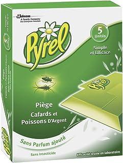 Pyrel–Trampas para cucarachas y pececillos de plata–Sin aroma–Juego de 5 unidades