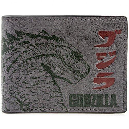 Warner Bros Godzilla Film Grau Portemonnaie Geldbörse