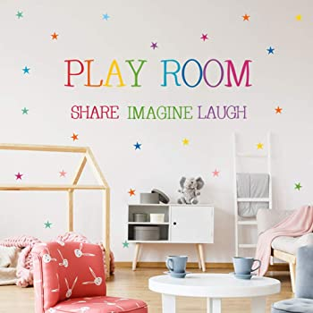 Black, 17 h x34 w Wall Decal Decor Playroom Decor Play is The Highest Form of Research Albert Einstein Quote Playroom Decal Childrens Kids Wall Decal Sticker