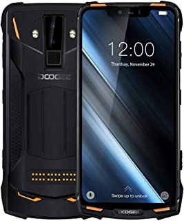 Mobile Phones S90 Rugged Phone, 6GB+128GB, IP68 Waterproof Dustproof Shockproof, Dual Back Cameras, Face ID & DTouch Fingerprint, 6.18 inch Screen Android 8.1 MTK6771(P60)4*Cortex-A73 2.0GHz + 4*Corte