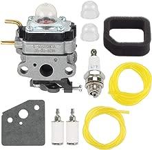 Venseri 753-06258A 75306258A Carburetor Carb with Air Filter Primer Bulb for 753-06258 Ryobi RY252CS RY253SS RY251PH RY254BC 2 Cycle 25cc Gas String Trimmer Replace # 75306258A