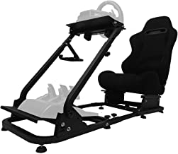 $298 » Sponsored Ad - Minneer Racing Seat Simulator Cockpit Height Adjustable Racing Steering Wheel Stand/Fits Fantec, Logitech G...