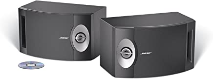 Bose 201-V Altavoces estéreo (1par), color negro