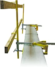 parapet clamp guardrail system