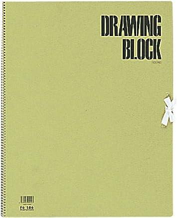 マルマン スケッチブック オリーブシリーズ F6 厚口画用紙 20枚 S86