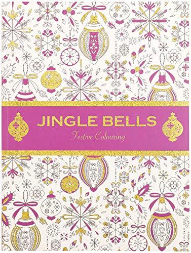 infactory Weihnachten-Malbuch: Malbuch für Erwachsene Jingle Bells mit 32 Wintermotiven (Weihnachts-Malbuch für Erwachsene)