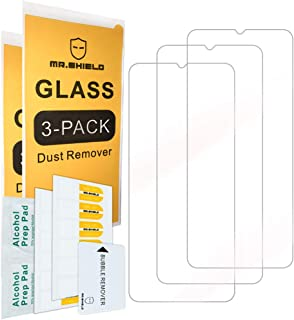 [3-Pack]-Mr.Shield for Xiaomi (Mi 10 Lite) 5G [Tempered Glass] [Japan Glass with 9H Hardness] Screen Protector with Lifeti...