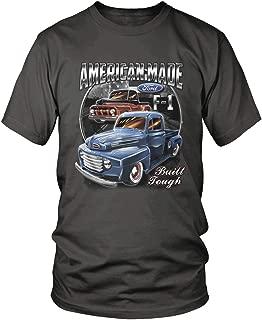 Amdesco Men's Ford Classic Trucks F-1 T-Shirt