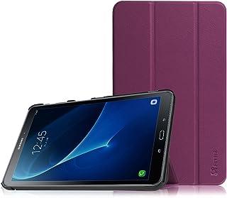 Fintie SlimShell Funda para Samsung Galaxy Tab A 10.1 2016 - Súper Delgada y Ligera Carcasa con Función de Soporte y Auto-Reposo/Activación para Modelo SM-T580N/T585N, Morado