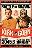 Close Up Star Trek Poster Kirk vs Gornstar (61cm x 91,5cm)