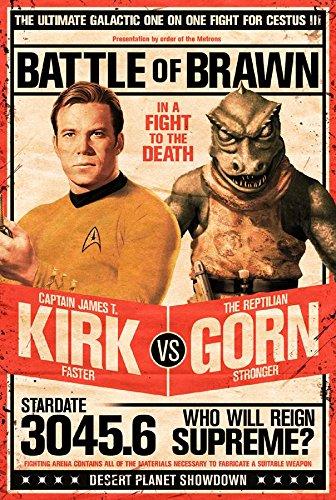 Close Up Star Trek Poster Kirk vs Gornstar (61cm x 91,5cm)