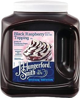 J Hungerford Smith Black Raspberry Topping, 123 Oz Jug, 3 Pack