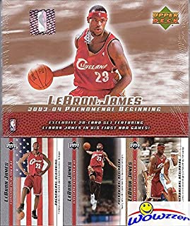 091ad54c524 2003 Upper Deck Lebron James 21 Card Phenomenal Beginning ROOKIE FACTORY  SEALED Box Set! Look