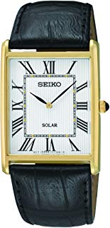 Seiko Men's SUP880 Analog Display Japanese Quartz Black Watch