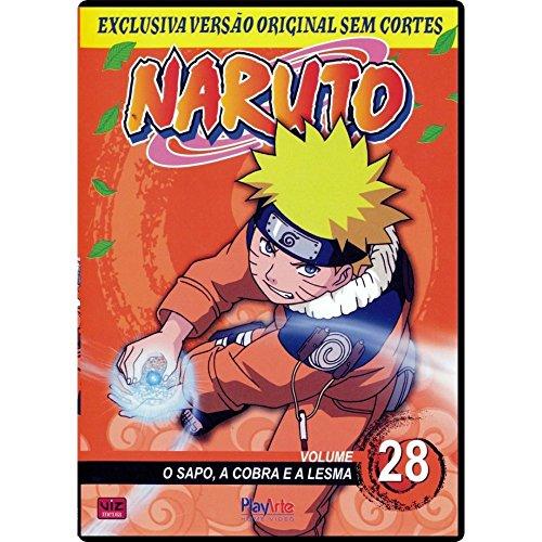 Naruto, V.28 - O Sapo, A Cobra E A Lesma