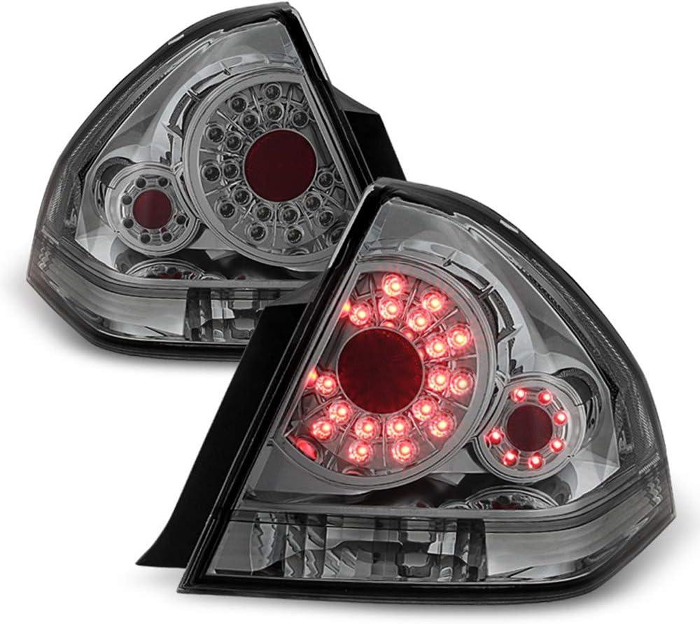 売り込み 正規店 ACANII - For Smoke 2006-2013 Chevy LED SS Lights SMD Impala Tail