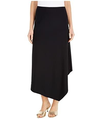 Lysse Rose Skirt in Drapey Ponte (Black) Women