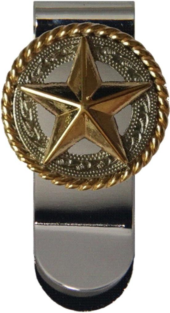 Custom Fancy Gold Star Money Clip