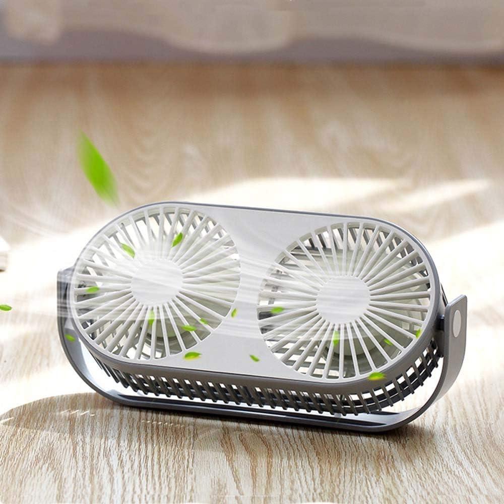 Mini Fan Easy-to-use Dual Creative Desktop Aromathera Multi-Function Max 80% OFF