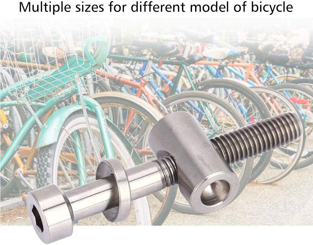 Yosoo Health Gear Bike Seatpost Screw Multiple Size of Bolts is Great DIY Replacement Parts for Bike Titanium Bolts Bicycle Seat-post Fixed Bolt with Precision Threads