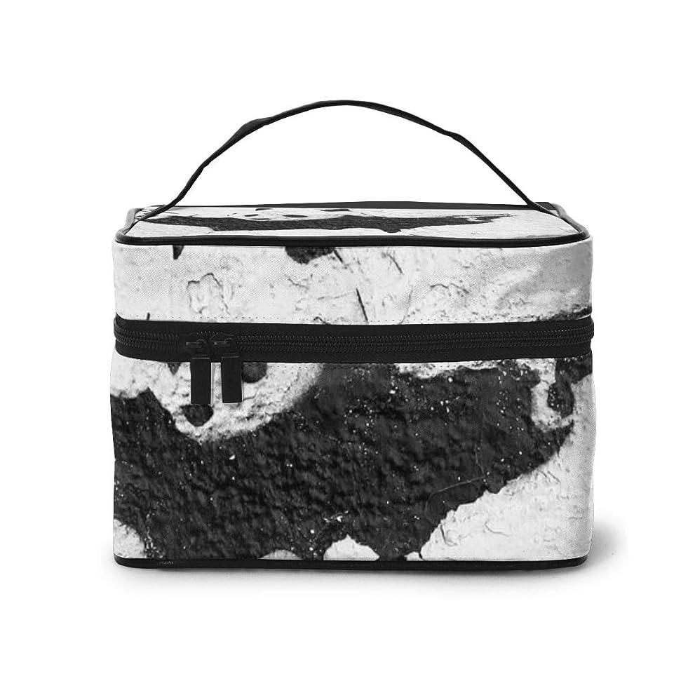 誰でも魅力的であることへのアピールシーフードメイクポーチ 化粧ポーチ コスメバッグ バニティケース トラベルポーチ Banksy バンクシー 雑貨 小物入れ 出張用 超軽量 機能的 大容量 収納ボックス
