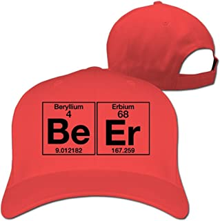 Sports The Element Of Chemistry Beer Periodic Table Cap For Man