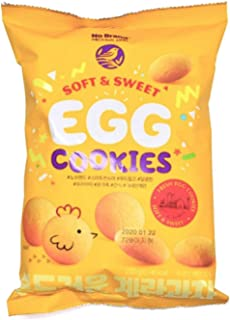 NO BRAND SOFT AND SWEET EGG COOKIES, 250G
