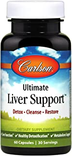 Carlson - Ultimate Liver Support, 60 Capsules