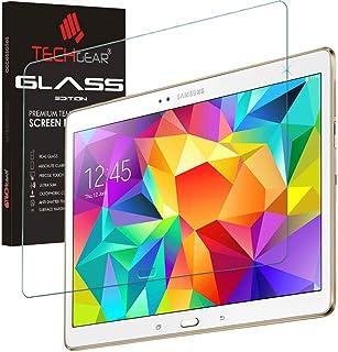 TECHGEAR skärmskydd för Galaxy Tab S 10,5 tum (SM-T800/SM-T805) serien - GLASS Edition äkta härdat glas skärmskydd skydd s...