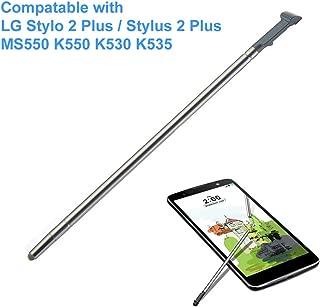 EMiEN Touch Stylus Pen Replacement Part for LG Stylo 2 Plus (Stylus 2 Plus) MS550 K550 K535 K530 (Gray)