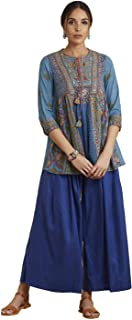 Women's Cotton Viscose & Georgette Kurta