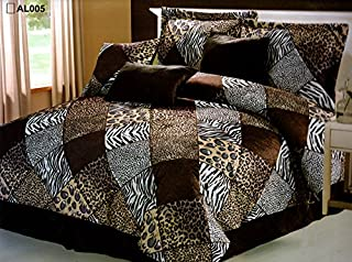 Best zebra queen comforter set Reviews