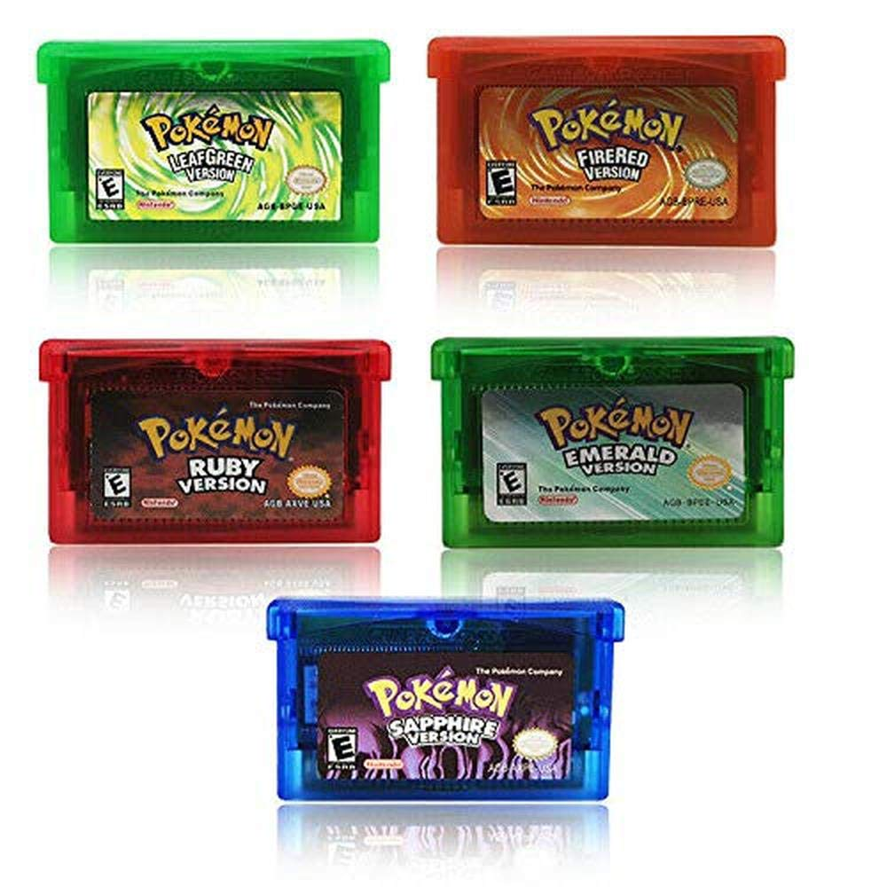 GBA Game Card Sapphire Emerald Choice FireRed LeafGreen Max 69% OFF POKEMON Po Ruby