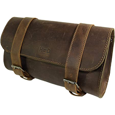Synthetic Leather Cycling Saddlebag Hanging Bag Motorcycle Pouch Bag for Travel