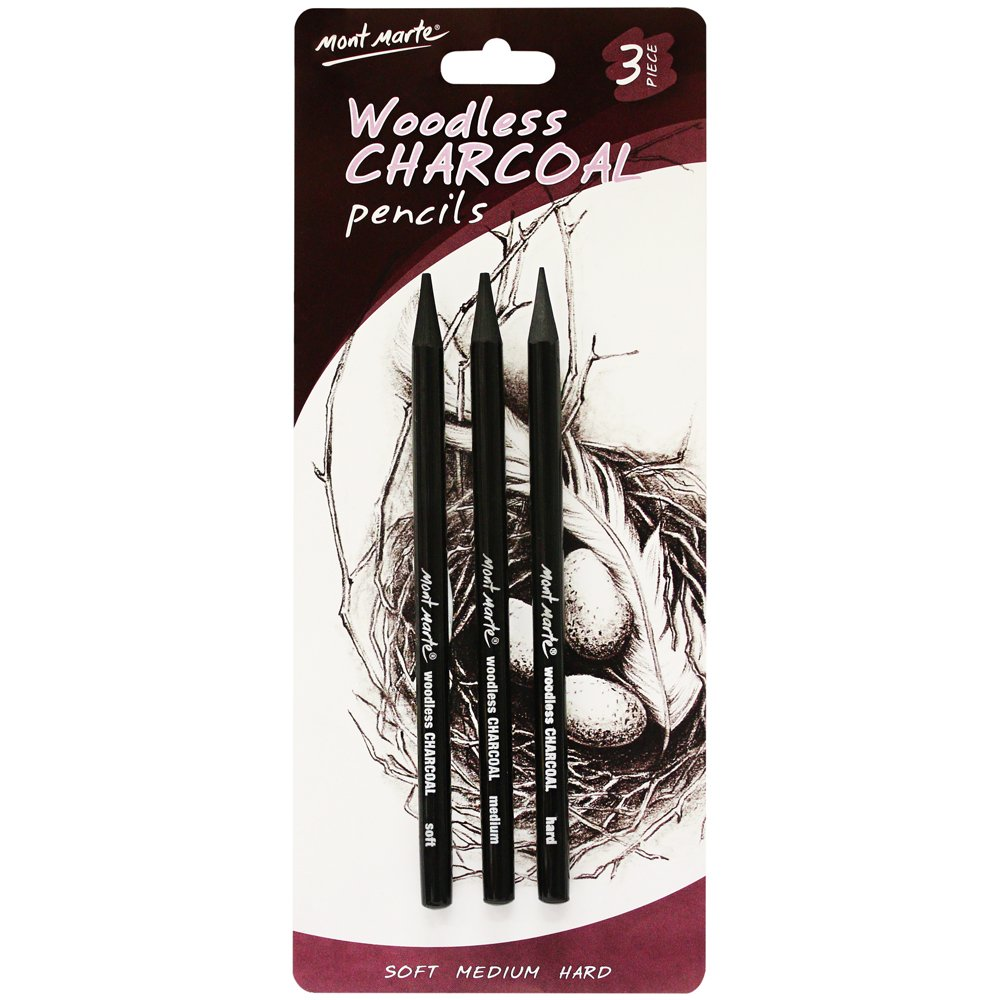 Mont Marte Woodless Charcoal Including