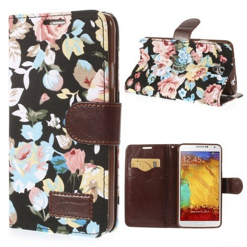 Unbekannt Flip Hülle Handy-Hülle Business Hülle zu Samsung Galaxy Note 3 Neo 3G / SM-N750, Galaxy Note 3 Neo LTE/GT-N7505 Blumen Frühling Sommer
