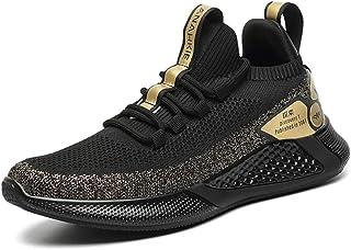 ZFKH Sneakers Scarpe da Uomo Scarpe con Suola Spessa Scarpe Traspiranti Uomo Moda Casual Sport Joker Scarpe da Corsa Uomo ...