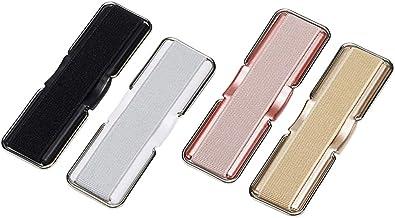 VILLCASE Suporte de Dedo Elástico de 4 Unidades para Suporte de Alça de Telefone Celular para Tablets Smartphones (Cor Ale...