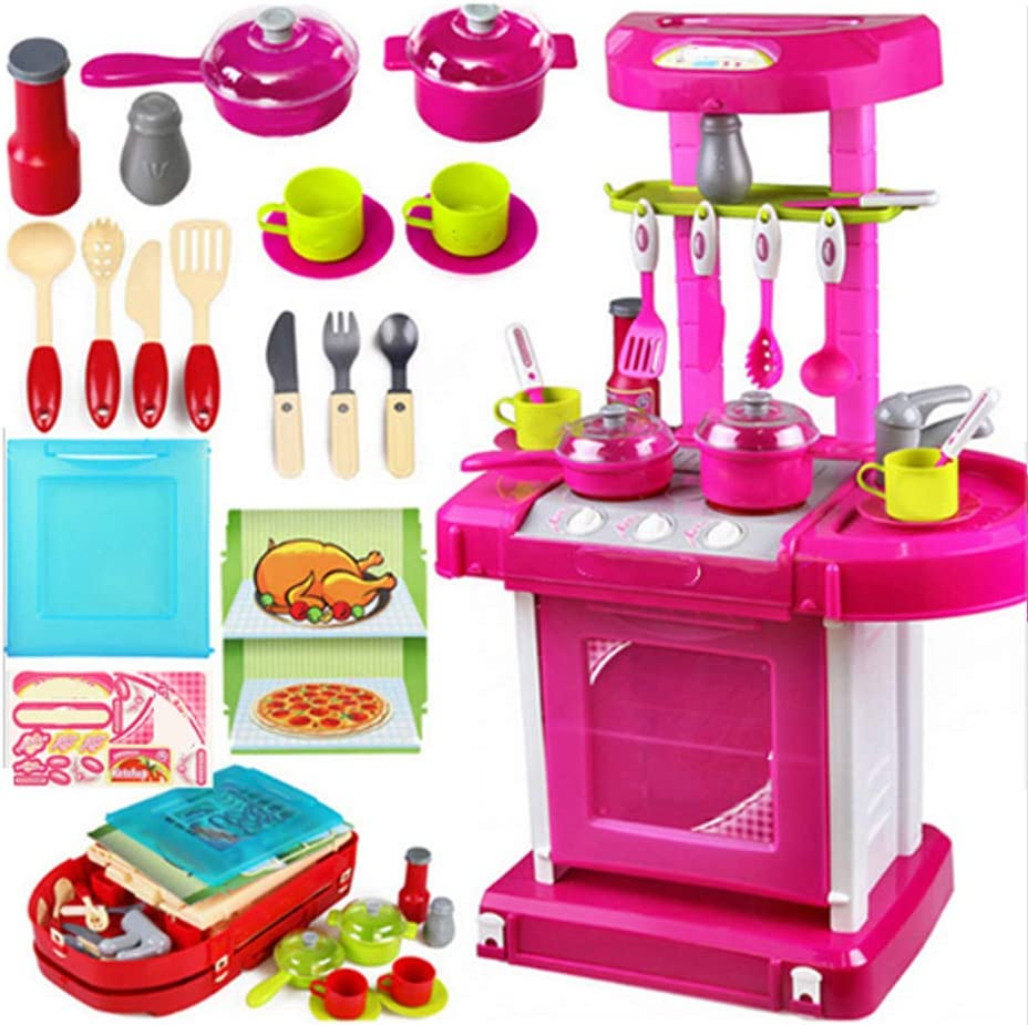 Max 62% OFF SALUTUY Children Kitchen Toy Portable Safety New York Mall fo Set