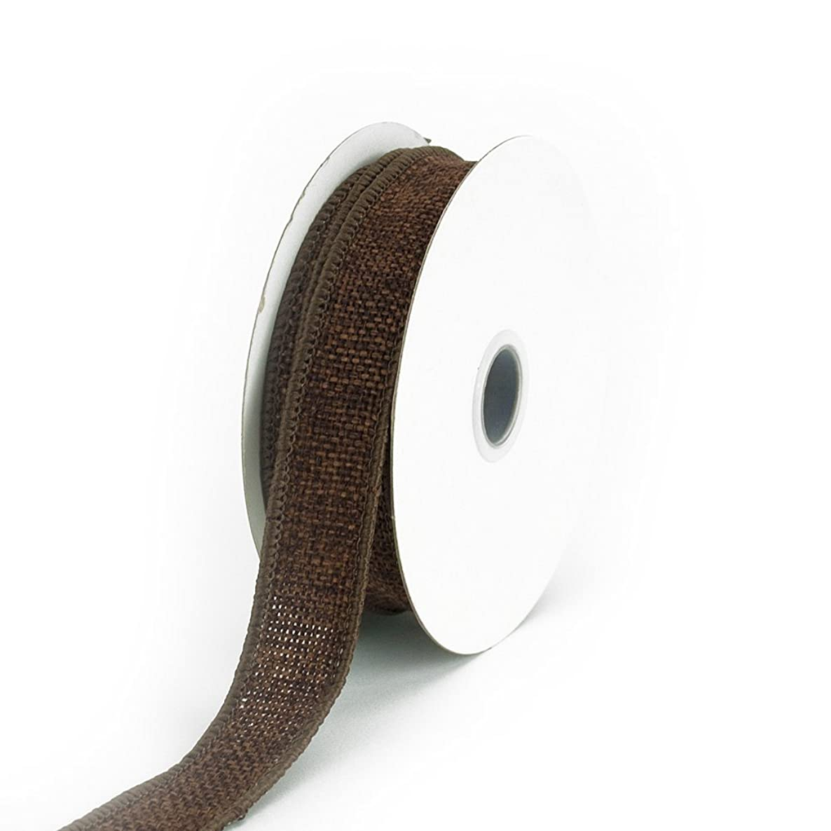 Creative Ideas Jute Ribbon, 7/8-Inch, Brown