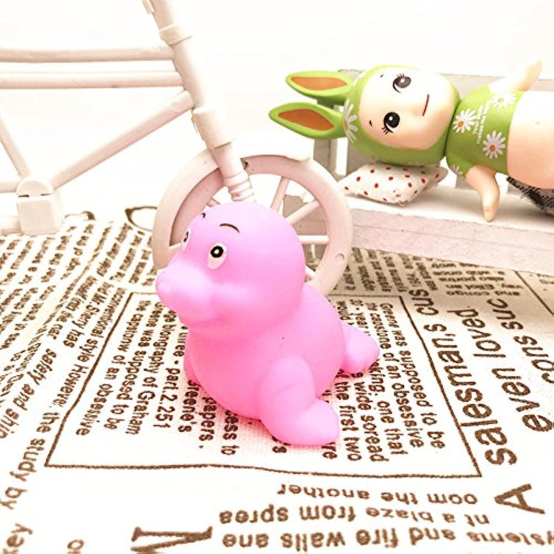 HuaQingPiJu-JP 5個のセット子供のラブリークリエイティブ動物の海のライオンのバスタブバスルームバスウォータープレイのおもちゃ