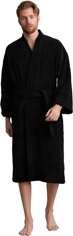 Men's Robe Turkish Cotton Loops New item Kimono Bathrobe Max 69% OFF Spa Terry