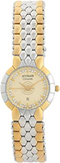 Accurate Casual Watch Analog for Women, Stainless Steel, ALQ1798T