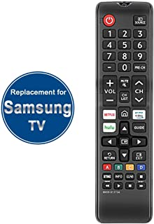 Gvirtue BN59-01315A BN59-01315D Replacement for Samsung Remote Control and Smart 4K Ultra UHD Curved Series 8/7/ 6 TV HDTV...