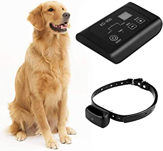 COVONO Electric Dog Fence,In Ground Pet Containment System(Underground/Aboveground,Waterproof/Rechargeable Collar,Static/Tone Correction,KD990B)