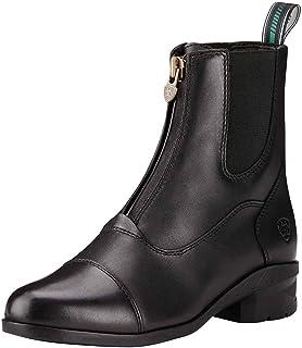 حذاء نسائي من Ariat Heritage IV بسحاب على شكل حصيرة، أسود، 7 B US